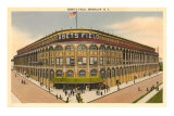 Ebbet's Field, Brooklyn, New York Print
