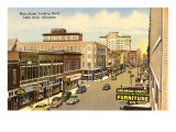 Downtown Little Rock, Arkansas Prints