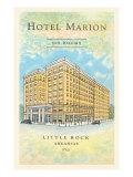 Hotel Marion, Little Rock, Arkansas Kunstdrucke