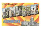 Greetings from Little Rock, Arkansas Prints