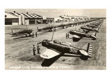 Randolph Field, Texas, with Fighter Planes Posters