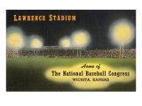 Lawrence Stadium, Wichita, Kansas Kunstdrucke