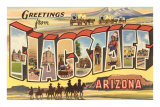 Greetings from Arizona Print