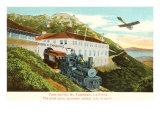 Train and Monoplane, Mt. Tamalpais Prints