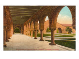 Colonnade, Stanford, California Print