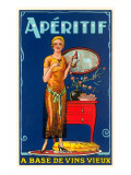 Aperitif, Twenties Advertisement Prints