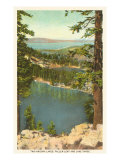 Lakes Near Lake Tahoe Prints