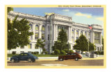 Kern County Courthouse, Bakersfield, California Prints