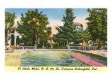 El Adobe Motel, Bakersfield, California Poster