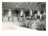 Wine Casks, Moet et Chandon Print