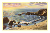 Wood&#39;s Cove, Laguna Beach, California Prints