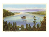 Emerald Bay, Lake Tahoe, California Poster