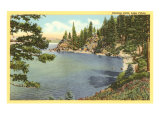 Rubicon Point, Lake Tahoe, California Print