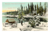 Shaver Lake, Fresno, California Prints