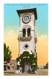 Beale Memorial Tower, Bakersfield, California Posters