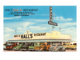Hall's Restaurant, Fresno, California Prints