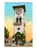 Beale Memorial Tower, Bakersfield, California Poster