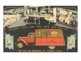 Scenes from Walter Brewing Company Posters