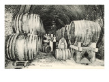 Wine Casks in Storage, Moet et Chandon Prints