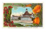 California Christmas, Hotel Del Coronado Posters