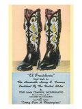 Truman's Cowboy Boots Posters