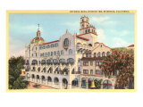 Rotunda Wing, Mission Inn, Riverside, California Prints