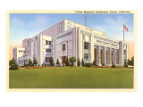 Memorial Auditorium, Fresno, California Art