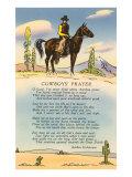 Cowboy's Prayer Art