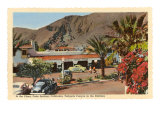 Plaza, Palm Springs, California Prints