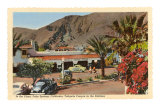 Plaza, Palm Springs, California Print
