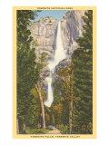 Yosemite Falls, California Art