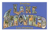 Greetings from Lake Arrowhead, California Photo