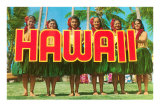 Greetings from Hawaii Poster