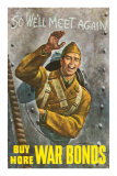Buy More War Bonds Poster