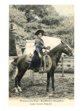 Florence La Duc, Roping Champion Poster