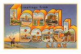 Souvenirs de Long Beach Long Island, New York Photographie