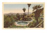 Hotel Swimming Pool, Palm Springs, California Prints