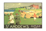 St. Andrews Golf Course Posters