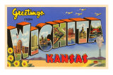 Greetings from Wichita, Kansas Kunstdrucke