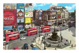 Picadilly Circus, London, England Kunstdrucke