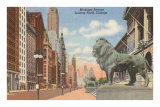 Michigan Avenue, Chicago, Illinois Prints