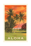 Aloha: Palm Trees Prints