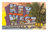 Greetings from Key West, Florida Prints