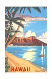Diamond Head, Hawaï Affiches