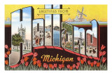 Souvenir de Holland, Michigan Posters
