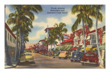 Worth Avenue, Palm Beach, Florida Posters