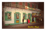Girly Bar, Bourbon Street, New Orleans, Louisiana Photo