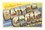 Greetings from Battle Creek, Michigan Photo