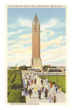 Jones Beach Water Tower, Long Island, New York Prints