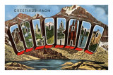 Greetings from Colorado Prints